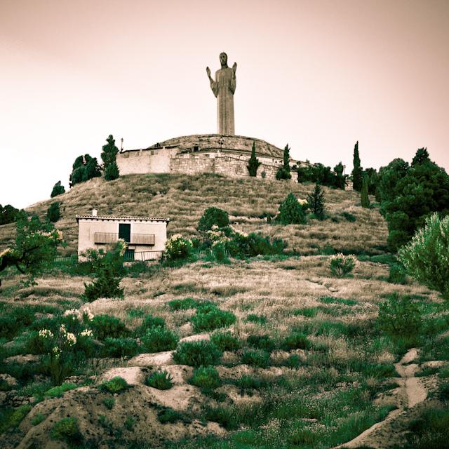 El Cristo del Otero, la escultura más alta