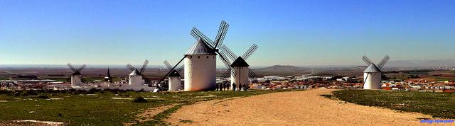 Ruta de los molinos de viento de La Mancha