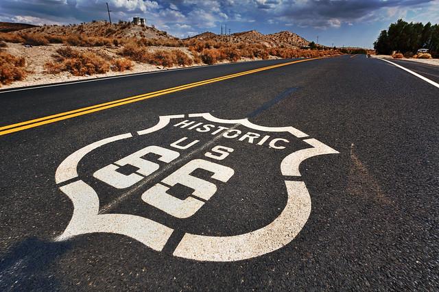 Recorriendo la Ruta 66 española