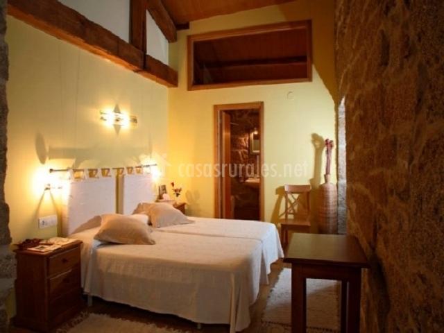 Baños Romanos Ourense:Casa Rural Couto Mixto en Baltar (Orense)