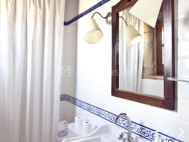 Baños Con Ducha Separada:La cabana en Casserres (Barcelona)