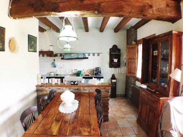 Fotos De Diseno De Cocinas Rusticas - Cocina Comedor Rustica ...