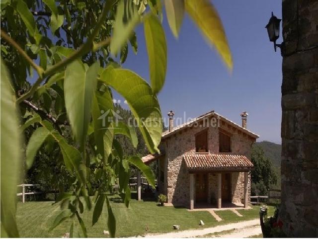 Baños Romanos Girona:Can Soler II en Porqueres (Girona)