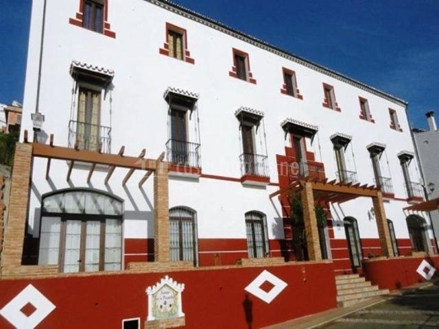 Posada mirador de jubrique en jubrique m laga - Habitacion roja y blanca ...