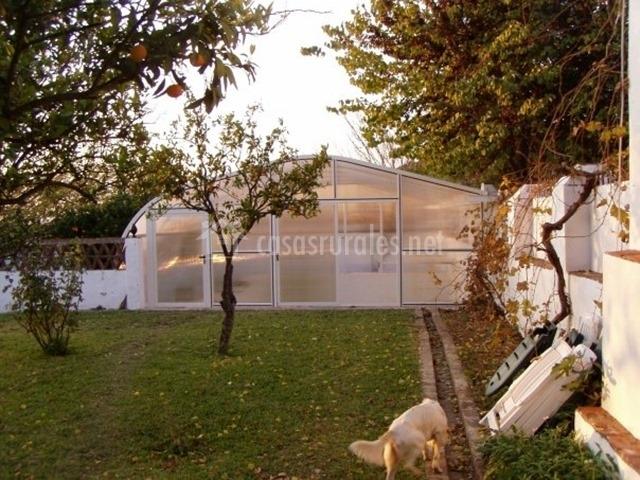 El granero en guadalcanal sevilla - Casa rural con piscina cubierta ...