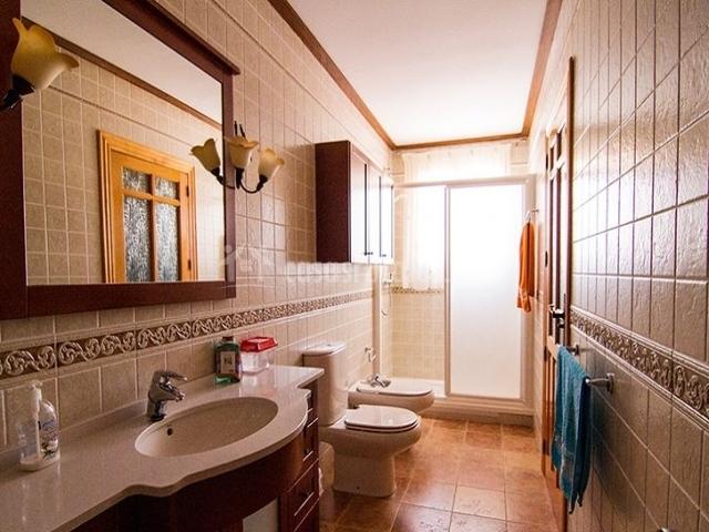 Aseo Adaptado Con Ducha:Casa Tejera en Elche De La Sierra (Albacete)