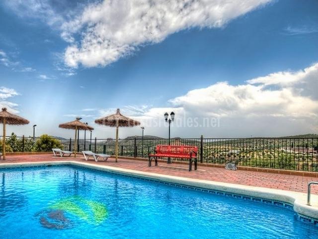 Casa letur en elche de la sierra albacete for Complejo rural con piscina