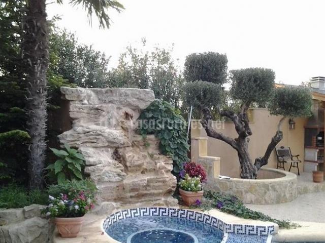 Caba a ii entre viejos olivos en benicolet valencia - Piscina jacuzzi exterior ...