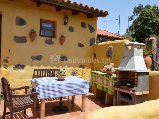 Casa el mirador de doramas en moya gran canaria - Barbacoa para terraza ...