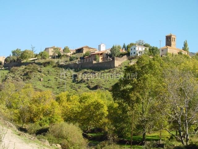 Casa el pajar en horcajo de la sierra madrid - Casa en la sierra de madrid ...