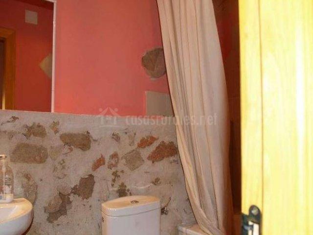 Baños Rusticos En Piedra:Casa rural El Tio Lidio en La Serrada (Ávila)