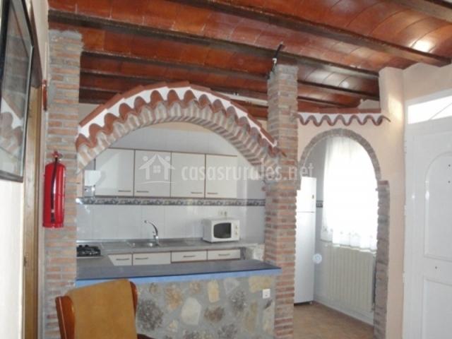 Casa alderete en navares murcia for Arcos de ladrillo visto