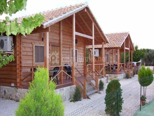 Caba as de madera altozano en moratalla murcia - Casas rurales de madera ...