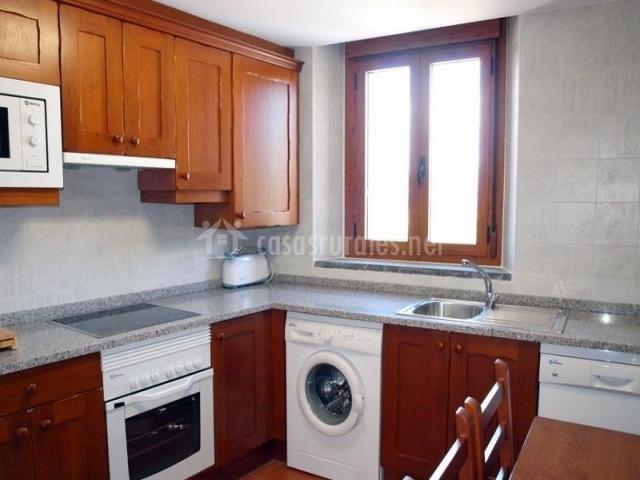 Apartamentos rurales casas rurales pirineo en gerbe huesca - Lavadora en la cocina ...