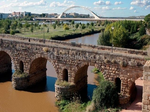 Puente Romano Matrimonio : Casa margarita ii en montanchez cáceres