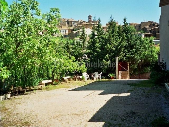 Casa villa mart n en san martin de unx navarra - Casa rural el jardin ...