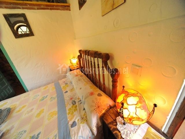 Lamparas Para Baño Turco:detalle de la cama baño empedrado baño con piedras cabeceros