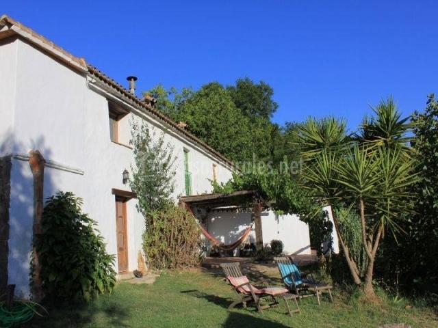 Casa rural ahora en el colmenar estacion de gaucin m laga - Muebles jardin malaga ...