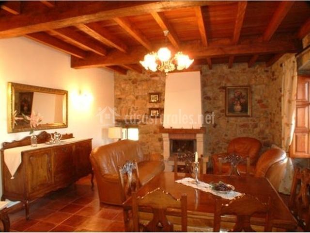La casona l campo en arlos asturias - La casa de madera muebles ...