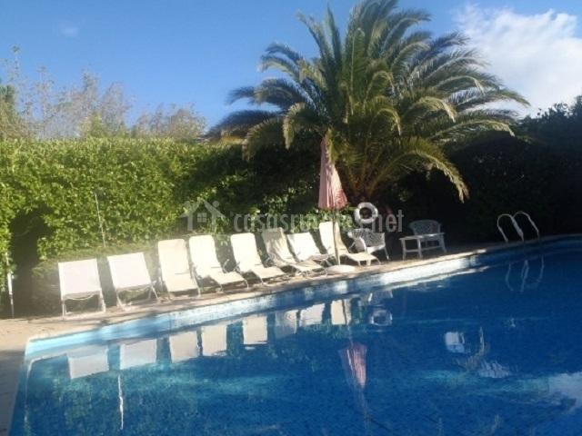 Mas sans 1 en figuerola del camp tarragona for Alojamiento con piscina