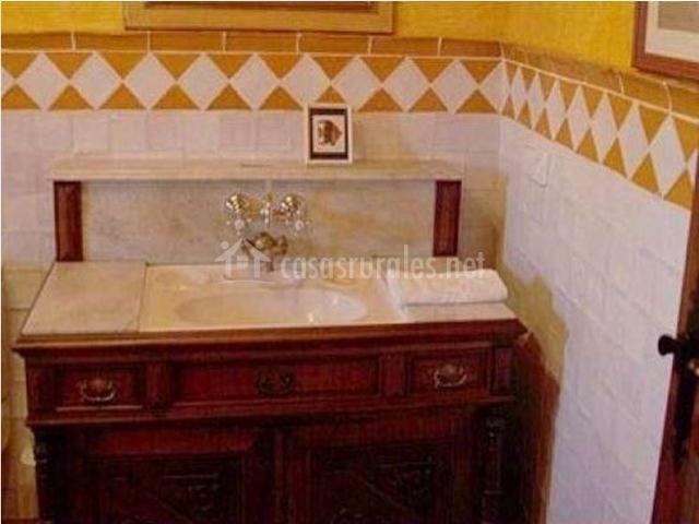 Muebles De Baño Yecla:comedor de la casa rural con chimenea salón de la