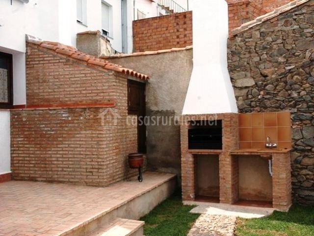 Casa rural el verdinal en villanueva del duque c rdoba for Barbacoa patio interior