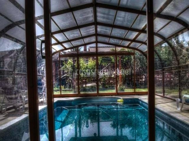 Hotel rural rinc n del cierzo en lecera zaragoza for Piscina cubierta zaragoza