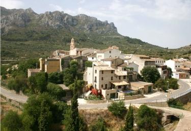 Casas rurales en vall de gallinera con piscina for Casas rurales alicante con piscina
