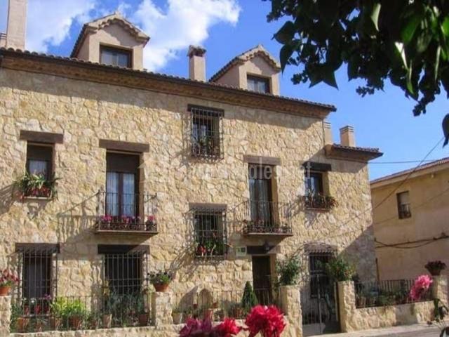 Casa rural marcelina planta 1 en beteta - Fachadas de piedra rustica ...