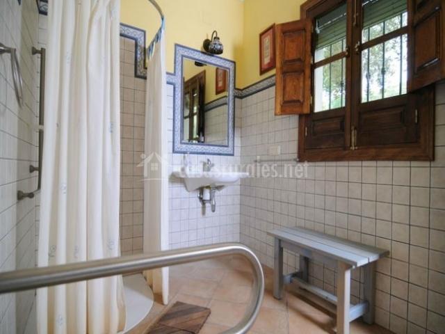 Caracteristicas Baño Adaptado: doble con camas individuales baño con bañera baño adaptado
