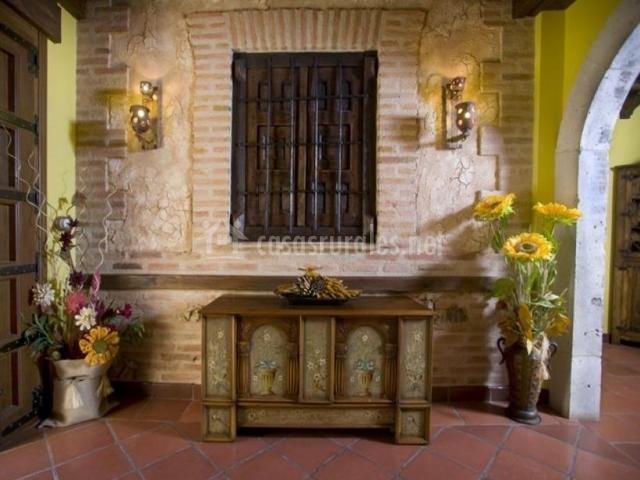 Baño Blanco Para Mantecados:Casa de los Beatos en Urueña (Valladolid)