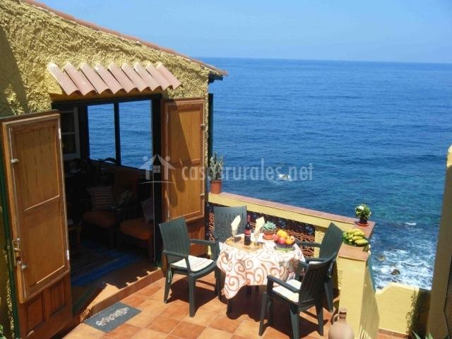 Casas junto al mar for Hoteles junto al mar