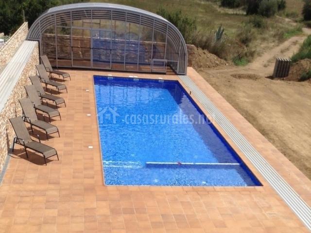 Apartamento mas fita en vilanova de la muga girona for Piscina en catalan