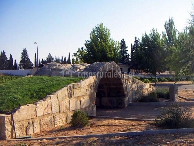Baños Romanos Toledo:Alojamiento Rural El Gigüela en La Puebla De Almoradiel (Toledo)