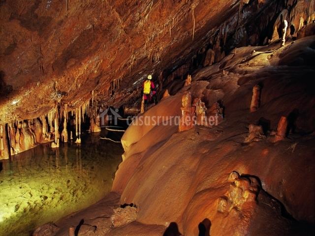 Mamparas Para Baño Asuncion:plazaola acueducto escondido de plazaola cuevas de mendukilo