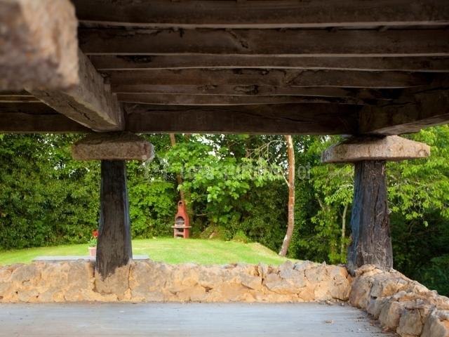 El pino en sevares asturias - Patios con barbacoa ...
