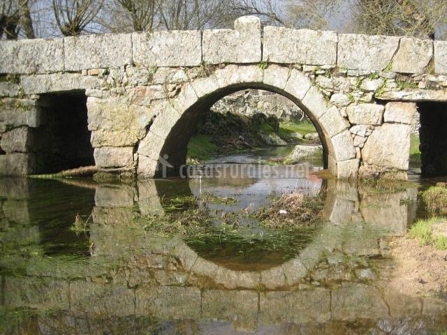 Puente Romano Matrimonio : Casa leocadia en tudera zamora