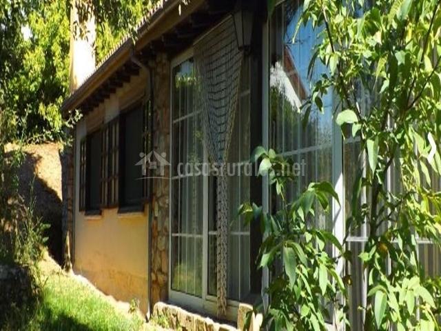 Casa rural rost n en zamora capital zamora for Casa jardin culebra