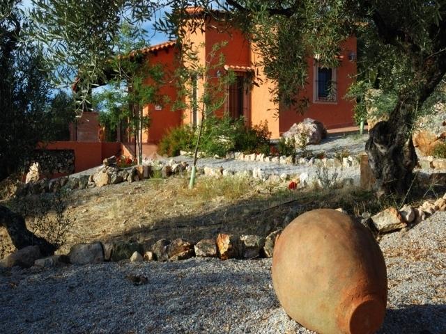 Baños Romanos Badajoz:Exterior: Fuera de la casa podréis disfrutar de una finca con más de