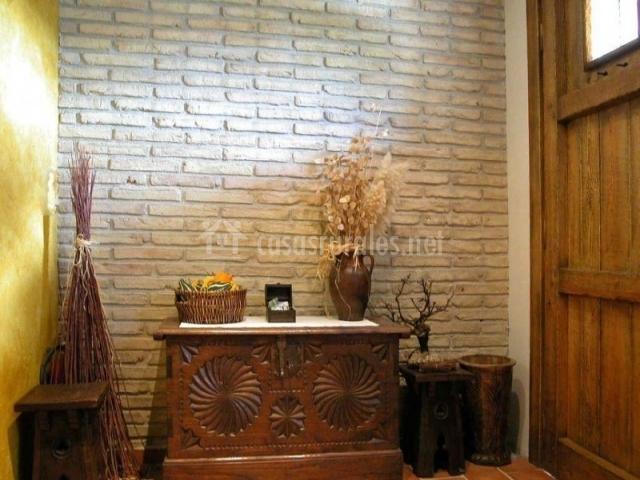 Casa rural urederra i en baquedano navarra - Muebles de piedra ...