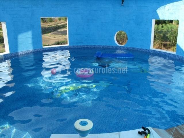 Casa rural aguas bravas en villanueva del rio y minas for Casa rural sevilla piscina