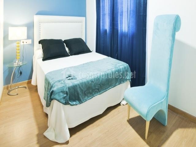 Baño Color Azul Pelo:color azul con baño dormitorio de matrimonio en color azul