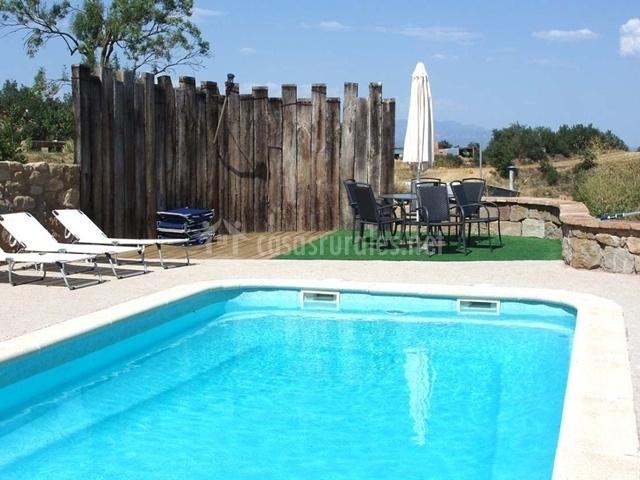 Casa llobera 3 en llobera lleida - Casas rurales lleida piscina ...
