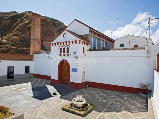 Baños Arabes Antiguos:La Cañada de las piedras en Cortes Y Graena (Granada)
