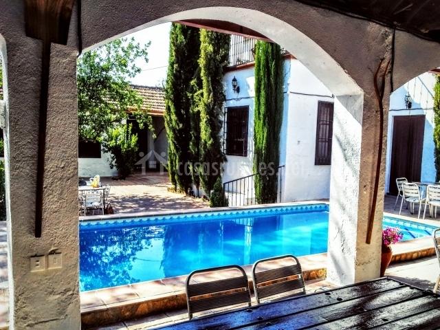 Aseo Adaptado Con Ducha:Casa El Cortijuelo en Escoznar (Granada)