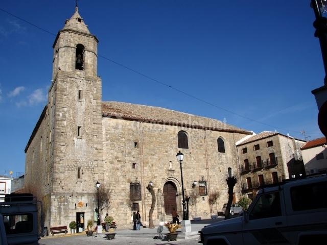 Mamparas Para Baño Villa Del Parque:casco antiguo de iznatoraf iglesia de la asunción en iznatoraf