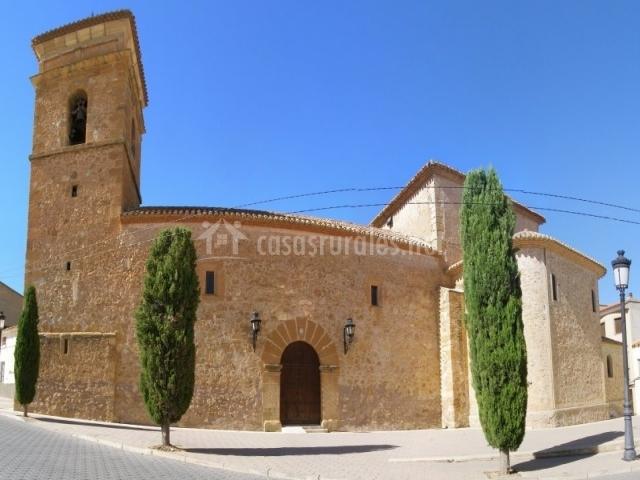 El Baño Azul Pozuelo:El Porche de Octaviano en Pozuelo (Albacete)