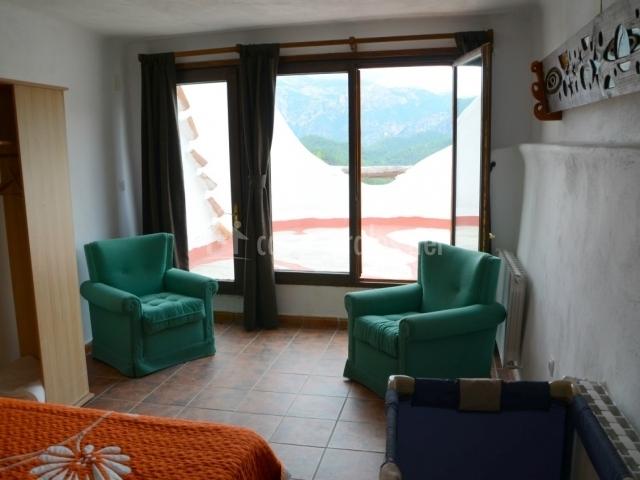 Dormitorios con sillones colecciones - Sillones para dormitorio ...