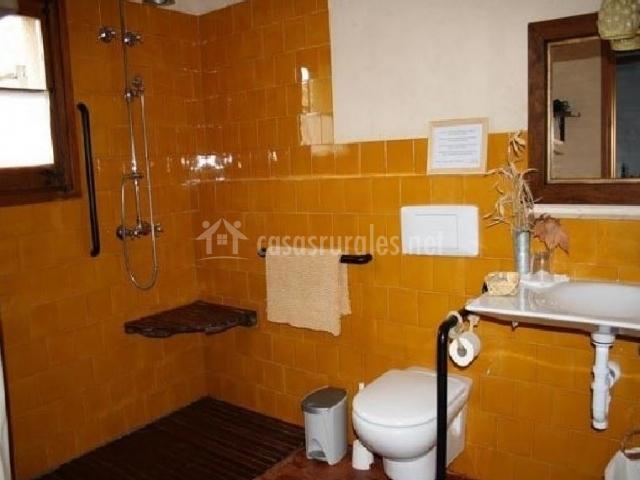 Cuartos De Baño En Amarillo:Cuarto de baño amarillo