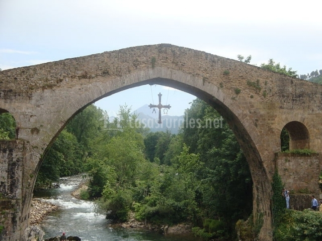 Azulejos Para Baños Asuncion:El puente romano de Cangas de Onís